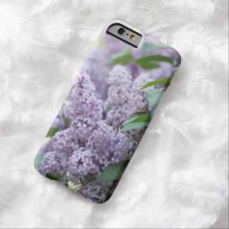 美しい旧式のパステル調の紫色のライラック BARELY THERE iPhone 6 ケース