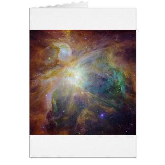 美しい星雲 グリーティングカード