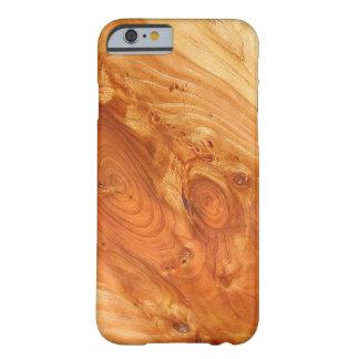 美しい木製の木質のある仕上げのiPhone 6/6s Barely There iPhone 6 ケース