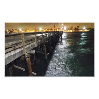 美しい桟橋の眺め フォトプリント