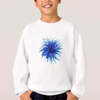 美しい水彩画の青のwindflower スウェットシャツ