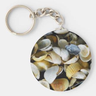 美しい海の貝 キーホルダー