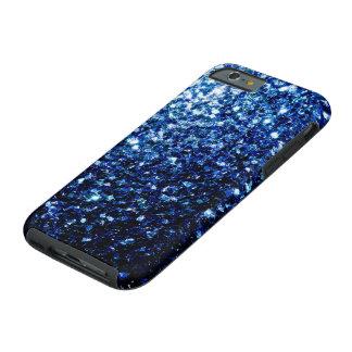 美しい濃紺のグリッターの輝き ケース