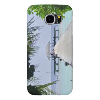 美しい熱帯海 SAMSUNG GALAXY S6 ケース