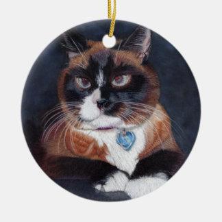 美しい猫 セラミックオーナメント