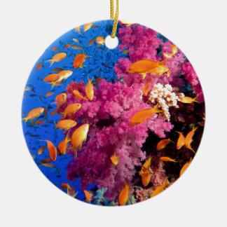 美しい珊瑚礁Naturescape セラミックオーナメント