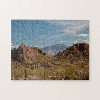 美しい砂漠の景色のパズル ジグソーパズル
