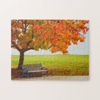 美しい秋日 ジグソーパズル