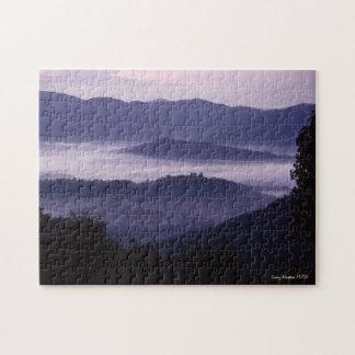 美しい素晴らしい煙山 ジグソーパズル