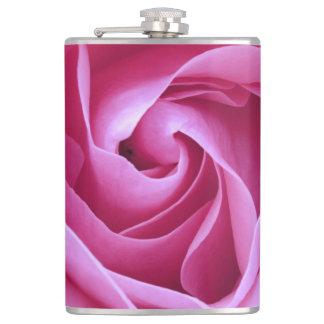 美しい紫色のバラの花 フラスク