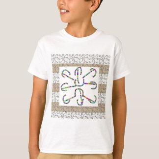 美しい線画CCC: 大きい眺め認めるため Tシャツ