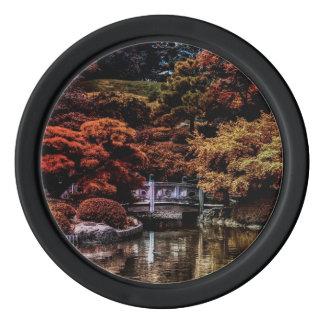 美しい自然の景色の写真 ポーカーチップ