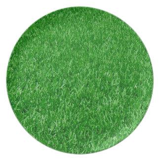 美しい芝生 プレート
