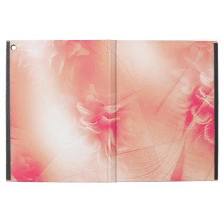 """美しい花のオレンジパターン iPad PRO 12.9"""" ケース"""