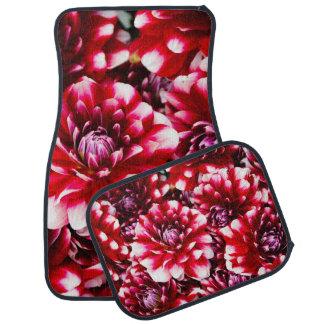 美しい花のカーマットセット カーマット