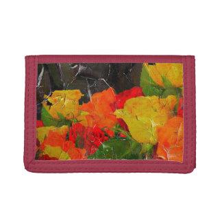 美しい花のグランジな色彩の鮮やか