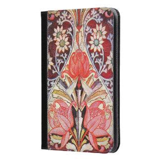 美しい花のヴィンテージの壁紙 iPad MINIケース