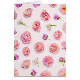 美しい花の構成 カード