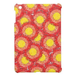 美しい花のiPad Miniケース-赤 iPad Mini カバー