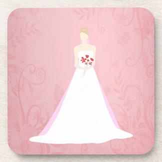 美しい花嫁の結婚式 コースター