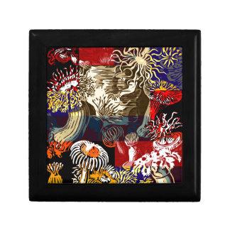 美しい花柄の抽象芸術 ギフトボックス