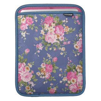 美しい花柄 iPadスリーブ