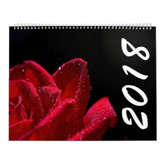 美しい花2018のカレンダー カレンダー
