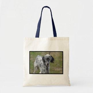 美しい英国セッター犬 トートバッグ