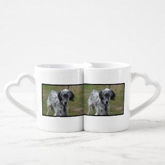 美しい英国セッター犬 ペアカップ