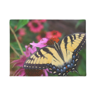 美しい蝶 ドアマット