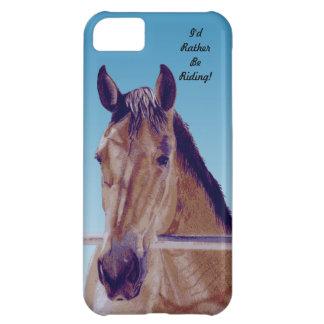 美しい西部の馬 iPhone5Cケース