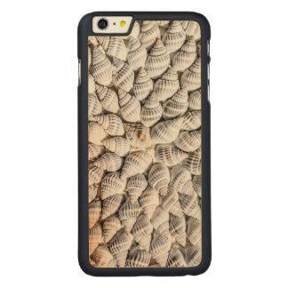 美しい貝を整理します CarvedメープルiPhone 6 PLUS スリムケース