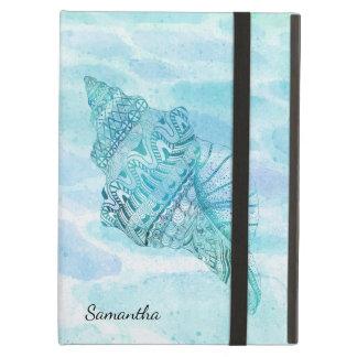 美しい貝殻のiPadの空気箱 iPad Airケース