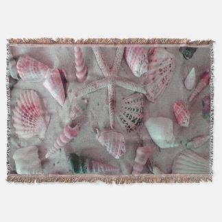 美しい貝殻 スローブランケット