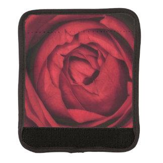美しい赤いバラの花 ラゲッジ ハンドルラップ