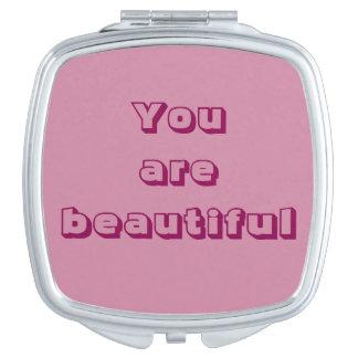 美しい鏡です