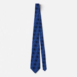 美しい青によって斑点を付けられるヒョウの万華鏡のように千変万化するパターン タイ