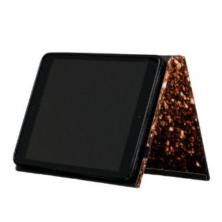 美しい青銅色のオレンジブラウンは輝きぴかぴか光ります iPad MINI ケース