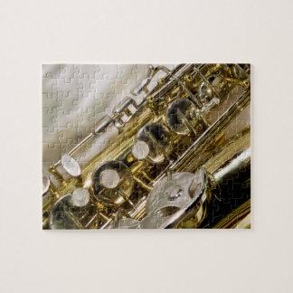 美しい音楽--サクソフォーン ジグソーパズル