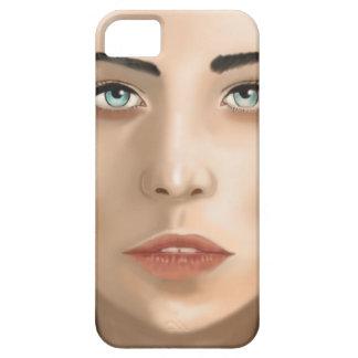 美しい顔 iPhone SE/5/5s ケース