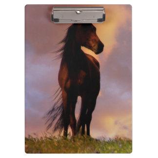 美しい馬のクリップボード クリップボード
