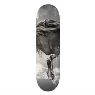 美しい馬の飲料水 スケートボード