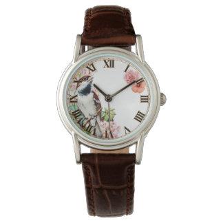 美しい鳥の腕時計 腕時計