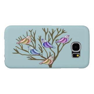 美しい鳥 SAMSUNG GALAXY S6 ケース