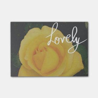 美しい黄色バラ ポストイット