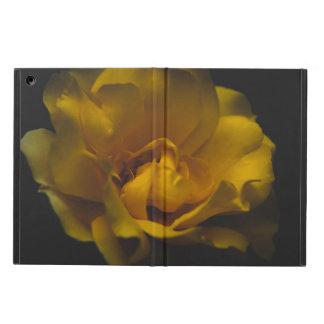 美しい黄色バラ iPad AIRケース