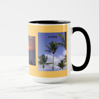 美しい3イメージのフロリダのギフトのマグ マグカップ