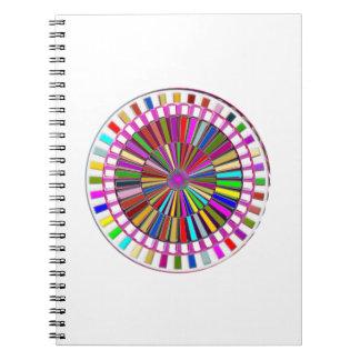 美しい: エネルギーの移動車輪のチャクラ ノートブック