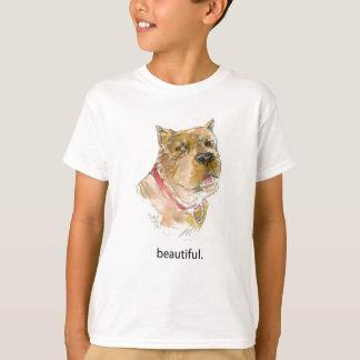 """美しい""""ディアーヌHeller著犬の思考のTシャツ Tシャツ"""