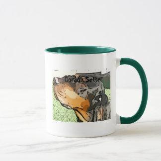 美しい、頭脳、BirdsenseゴードンのセッターのCeramcのマグ マグカップ
